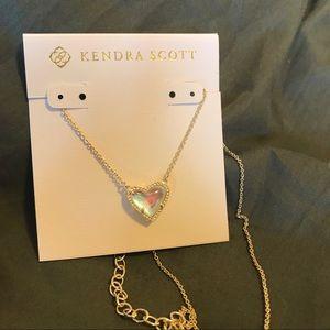 Kendra Scott Ari Dichroic Glass Gold Necklace